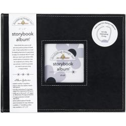 Doodlebug Beetle Back Fabric Storybook Album (8' x 11')