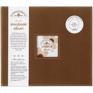 Doodlebug Bon Bon Fabric Storybook Album (12' x 12')