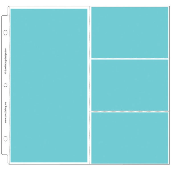 Doodlebug Combo Page Protectors (Pack of 25)