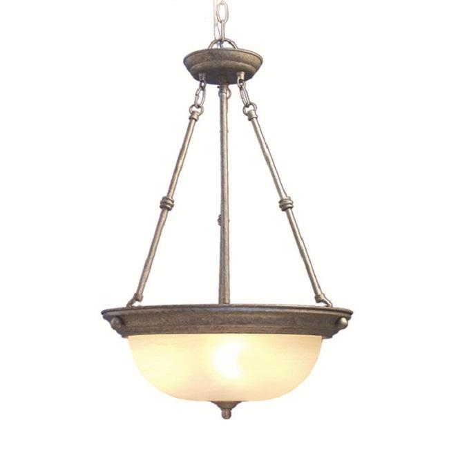 Woodbridge Lighting Basic 3-light Greystone Pendant