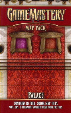 Gamemastery Map Pack: Palace (Paperback)