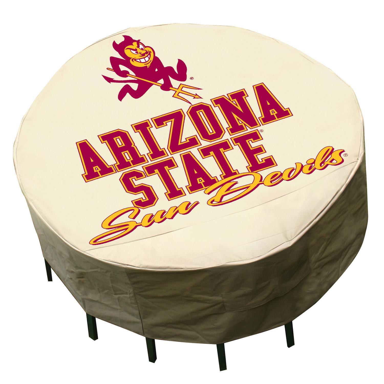 NCAA Arizona State Sun Devils Round Patio Set Table Cover