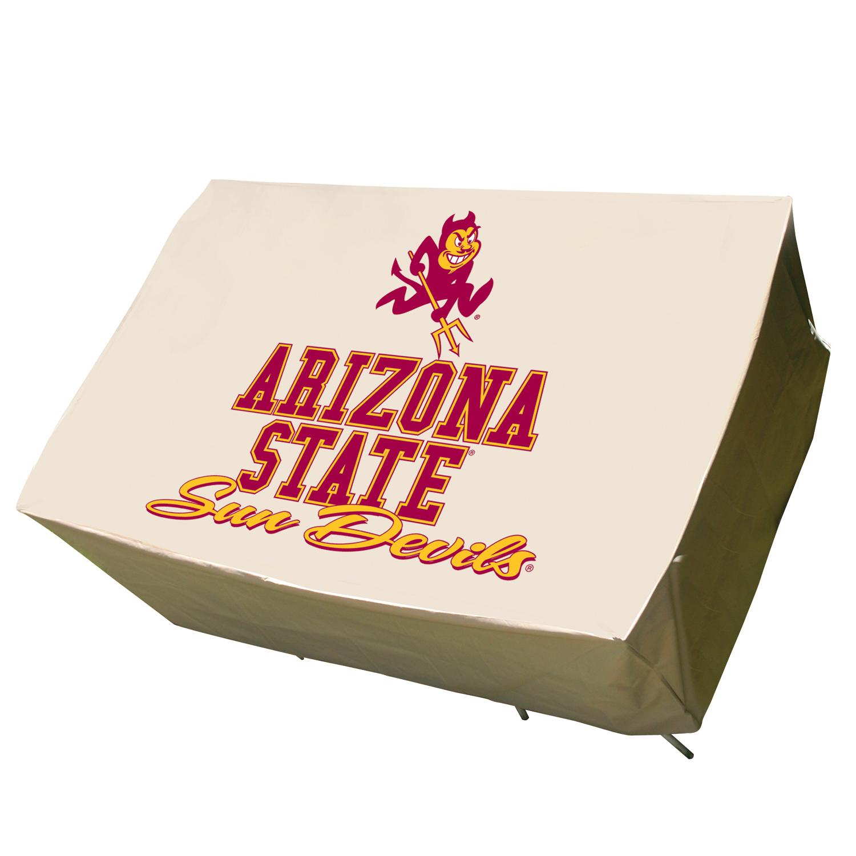 NCAA Arizona State Sun Devils Plastic Rectangle Patio Set Table Cover