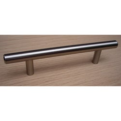 GlideRite 6-inch Solid Stainless Steel Finished Smooth Cabinet Bar Pulls (Case of 25)