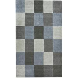 nuLOOM Handmade Multi Patchwork New Zealand Wool Rug (7'6 x 9'6)