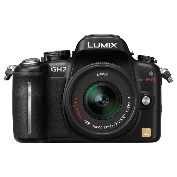 Panasonic Lumix DMC-GH2 16.1 Megapixel Mirrorless Camera with Lens -