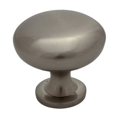 GlideRite Satin Nickel Classic Round Cabinet Knobs (Case of 25)