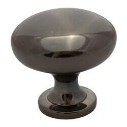 GlideRite Black Nickel Classic Round Cabinet Knobs (Case of 25)