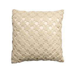 Rose Tree Crochet Decorative Pillow