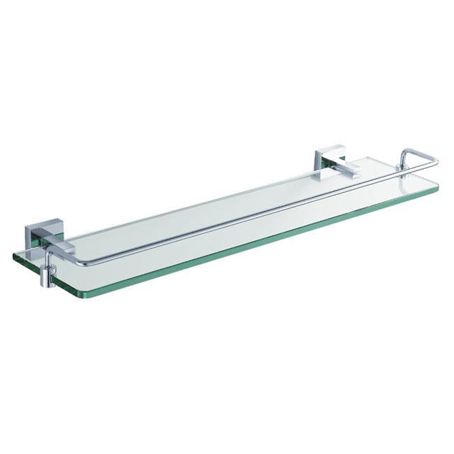 Kraus Aura Bathroom Accessory Shelf with Railing
