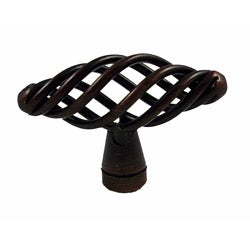 GlideRite Oil Rubbed Bronze Birdcage Cabinet Knobs (Case of 25)