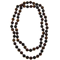 Pearlz Ocean Tiger's Eye 36-inch Endless Necklace