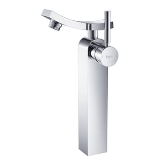 Kraus Unicus Chrome Single Lever Vessel Faucet