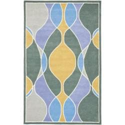 Safavieh Handmade Tiff New Zealand Wool Rug (7'6 x 9'6)