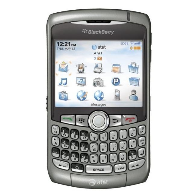 RIM BlackBerry Curve 8310 Unlocked Titanium Cell Phone