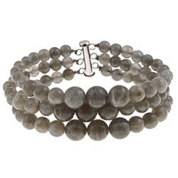 Pearlz Ocean Sterling Silver Labradorite Journey Bracelet