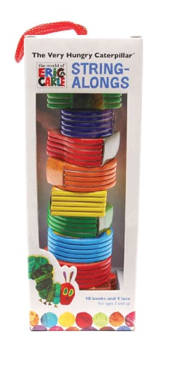 The Very Hungry Caterpillar String-Alongs (Board book)