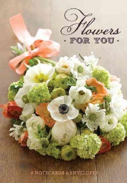 Flowers for You Notecards & Envelopes (Cards)