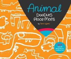 Animal Doodles Place Mats (General merchandise)