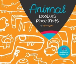 Animal Doodles Place Mats (General merchandise)