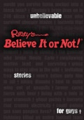 Ripley's Believe It or Not!: Unbelievable Stories for Guys (Hardcover)