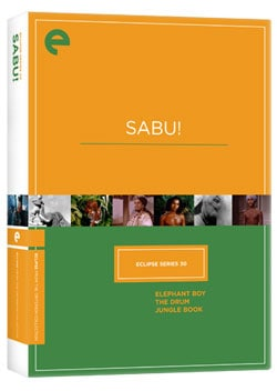 Eclipse Series 30: Sabu! (DVD)