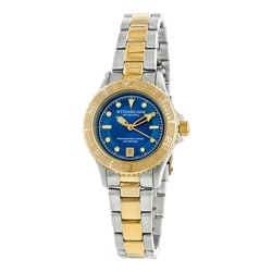 Stuhrling Original Women's Lady Regatta Sailor Divers Swiss Watch
