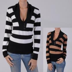 Ci Sony by Adi Juniors Long Sleeve V-neck Sweater