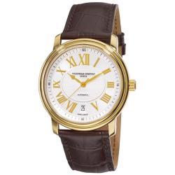 Frederique Constant Men's FC-303NM4P5 'Persuasion Heart Beat Date' Goldtone Watch