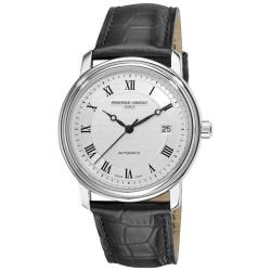 Frederique Constant Men's FC-303MC4P6 'Classics Automatic' Black Strap Watch