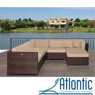 Atlantic Modena Deluxe 6-piece Sectional Set