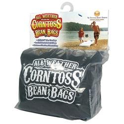 Driveway Games Black All-weather Corntoss Bean Bag Game