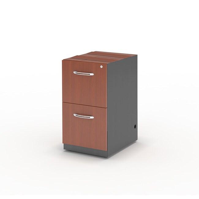 Mayline Aberdeen 26-in File/ File Pedestal for Desk