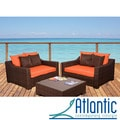 Lexington Orange 3-piece Deep Seating Set