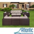 review detail Milano Deluxe 10-piece Sectional Set with Sunbrella