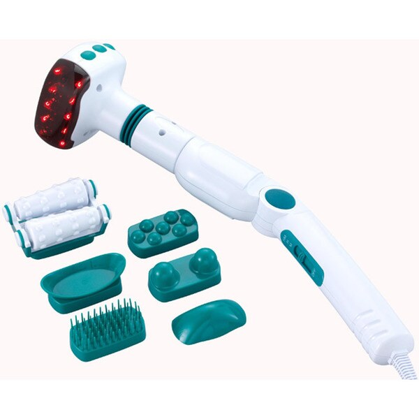 Filter Stream Heat Therapy Wand Massager
