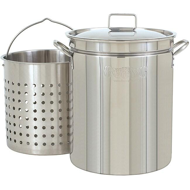 Bayou Classic 44-qt Steamer and Boiler Pot