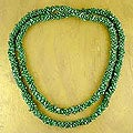 'Cool Moss' Malachite Bead Necklace (India)