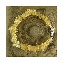 'Golden Garland' Citrine Bead Bracelet (India)