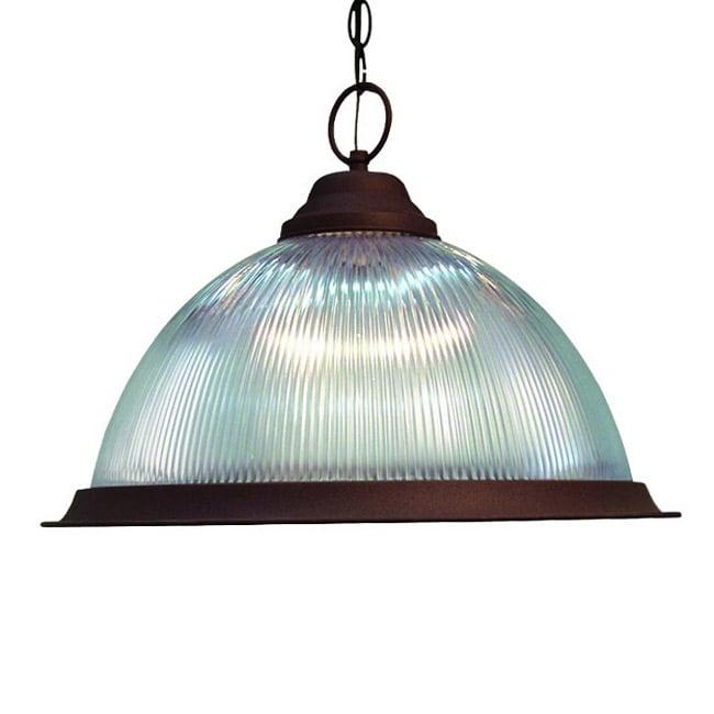 Woodbridge Lighting Basic 1-light Antique Bronze Pendant