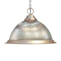 Woodbridge Lighting Basic 1-light Satin Nickel Pendant