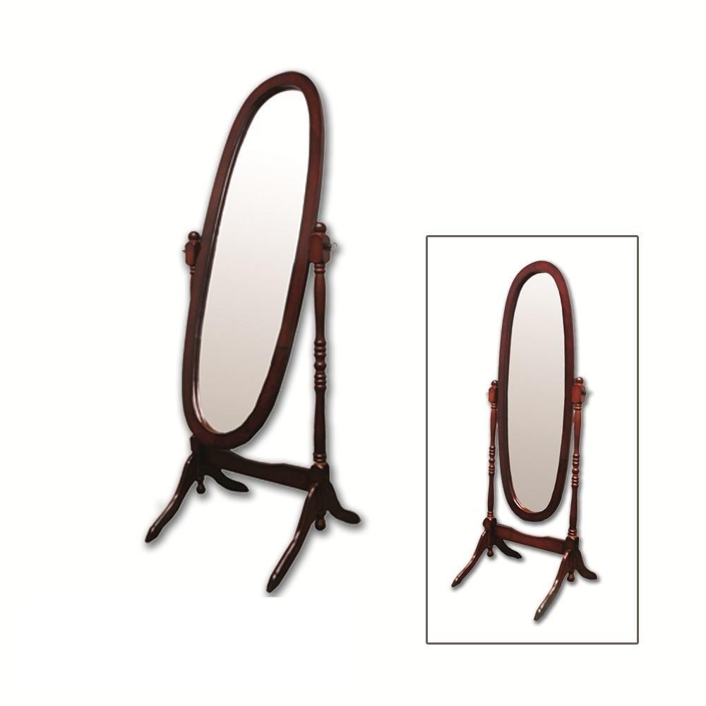Cherry floor mirror