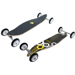 Atom 39-inch Cruiser Maple-laminate Longboard with ABEC 5 Bearings