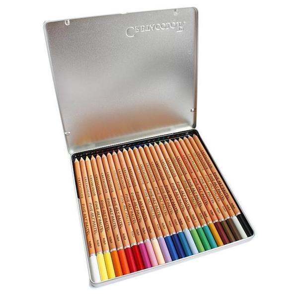 Cretacolor Pastel Pencils (Set of 24)
