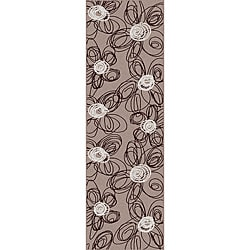 Brilliance Flower Runner Rug (2'2 x 7'7)