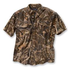 Beretta Featherlite Cotton Signature Short-sleeve Camo Shooting Shirt