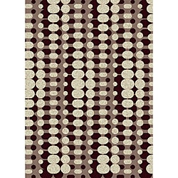 "Brilliance Circuit Olefin Area Rug (5'5"" x 7'7"")"