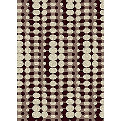 "Brilliance Circuit Geometric Area Rug (7'9"" x 11')"