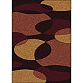 "Brilliance Circles Olefin Area Rug (3'3"" x 4'11"")"