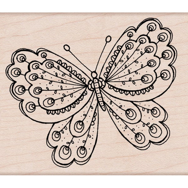 Hero Arts 'Artists Butterfly' Mounted Stamp